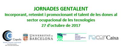 Jornadas GENTALENT. Incorporando, reteniendo y promocionando el talento de las mujeres en el sector ocupacional de las tecnologías