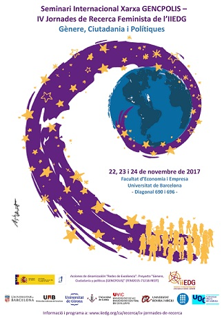 Seminario Internacional de la Red GENCPOLIS y IV Jornadas de Investigación Feminista del IIEDG