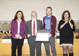 Leon Freude rep l'accèssit del Premi de Joves Sociòlegs
