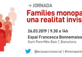 Elisabet Almeda com a conferenciant inaugural a la jornada Famílies monoparentals: una realitat invisible