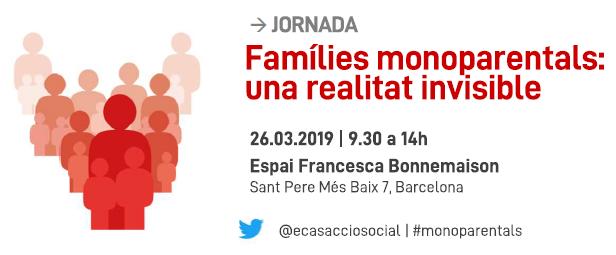 Elisabet Almeda como conferenciante inaugural en la jornada Familias monoparentales: una realidad invisible