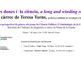 (Català) Elisabet Almeda imparteix un seminari per a docents a l'ICE de Girona