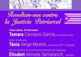 (Català) Elisabet Almeda a la Taula Rodona Revoltem-nos contra la Justícia Patriarcal