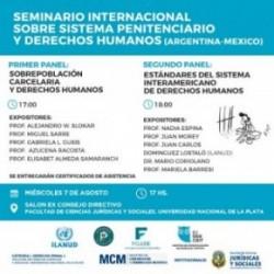 Elisabet Almeda en el Seminario Internacional sobre Sistema Penitenciario y Derechos Humanos