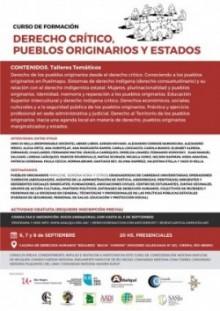 Curs de Formació en Dret Crític, Pobles originaris i Estats