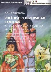 Conferencia sobre políticas y diversidad familiar por parte de Elisabet Almeda