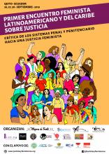 Elisabet Almeda al Primer Encuentro Feminista Latinoamericano y del Caribe sobre la Justicia