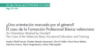 Nova Publicació sobre gènere i la FP bàsica valenciana