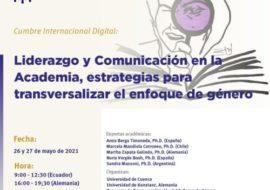 """Participació de COPOLIS en la cumbre internacional """"Liderazgo y Comunicación en la Academia, estrategias para transversalizar el enfoque de género"""""""