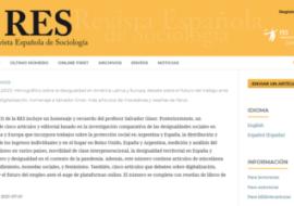 Publicació d'un monogràfic sobre la desigualtat a América Llatina i Europa co-coordinadinat per Màrius Domínguez