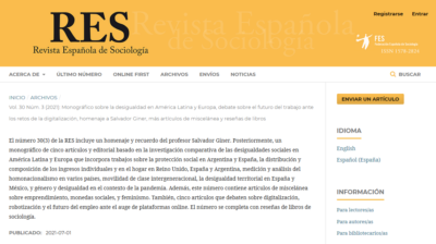 Publication of a monograph on inequality in Latin America and Europe co-coordinated by Màrius Domínguez