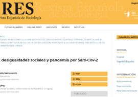 Reading tip: Gender, social inequalities and the Sars-Cov-2 pandemic