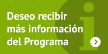 Deseo recibir más información del programa de cursos de Gestión Cultural