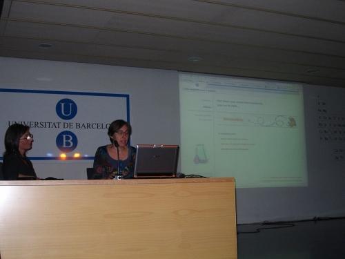 Presentació del Vocabulària a la Facultat de Química durant la Primavera de la Llengua