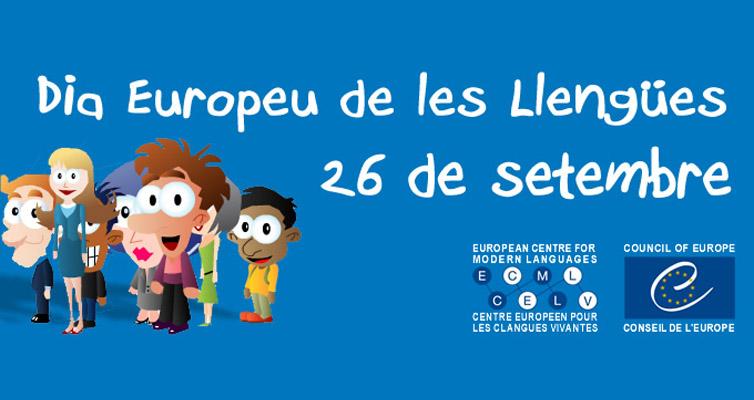 Celebra amb nosaltres el Dia Europeu de les Llengües