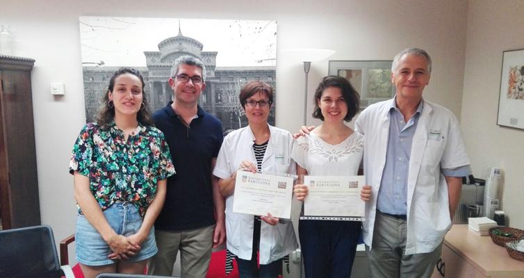 Lliurament del premi literari de la Facultat de Medicina