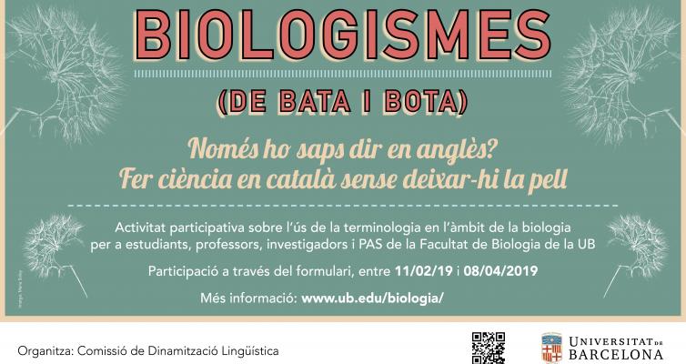 Activitats de Sant Jordi a la Facultat de Biologia
