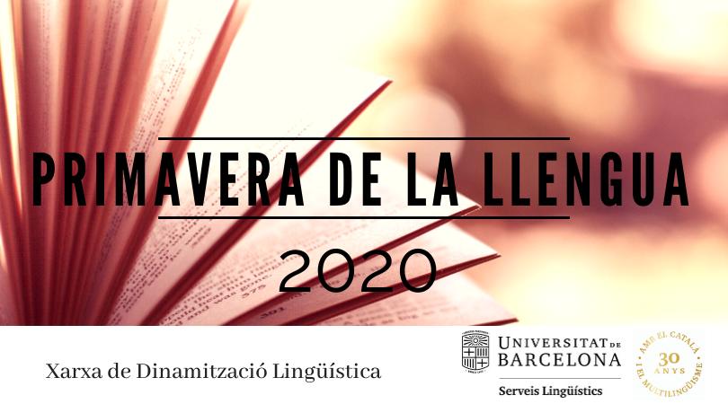 Primavera llengua 2020