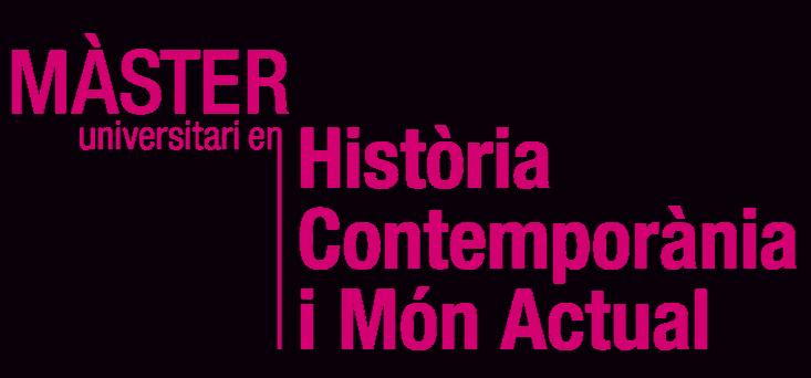Màster Universitari en Història Contemporània i Món Actual