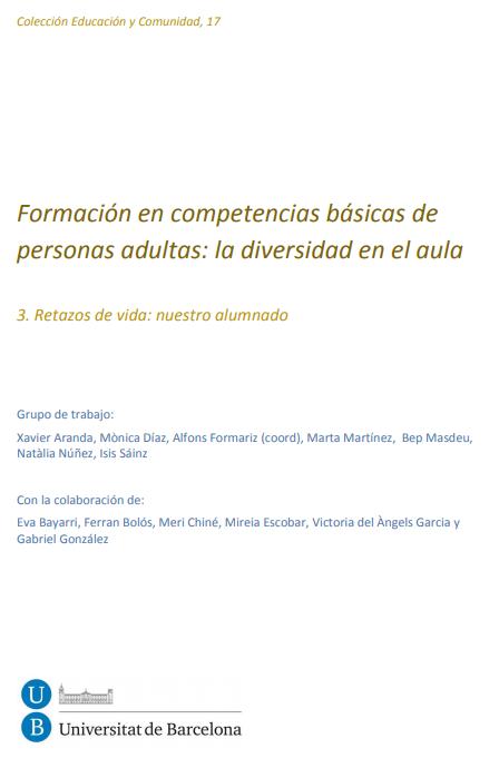 Formación en competencias básicas de personas adultas: la diversidad en el aula. 3