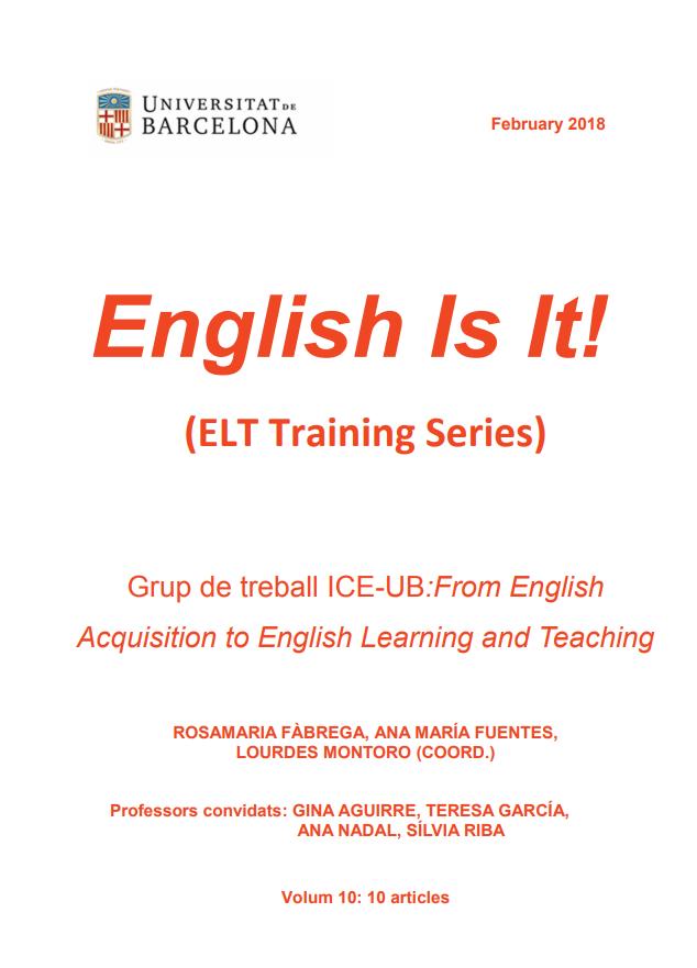 English Is It! (ELT Training Series). Vol. 10