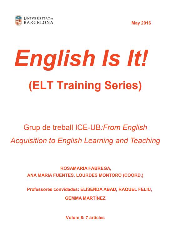 English Is It! (ELT Training Series). Vol. 6