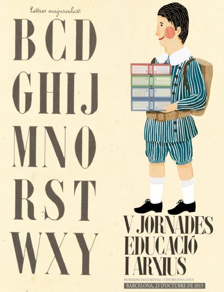 V Jornades Educació i Arxius. Patrimoni documental i centres educatius
