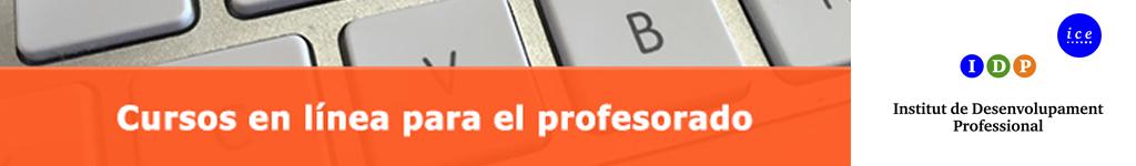 Cursos en línea para profesorado. Octubre 2020