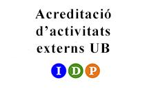 Acreditació activitats externs UB