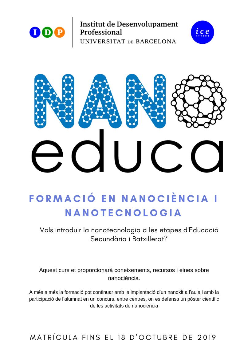 Formació en nanociència i nanotecnologia