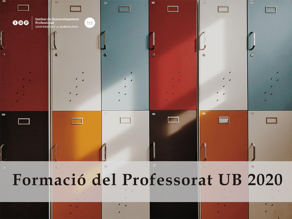 Formació professorat UB 2020