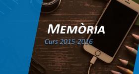 Memòria 2015-2016