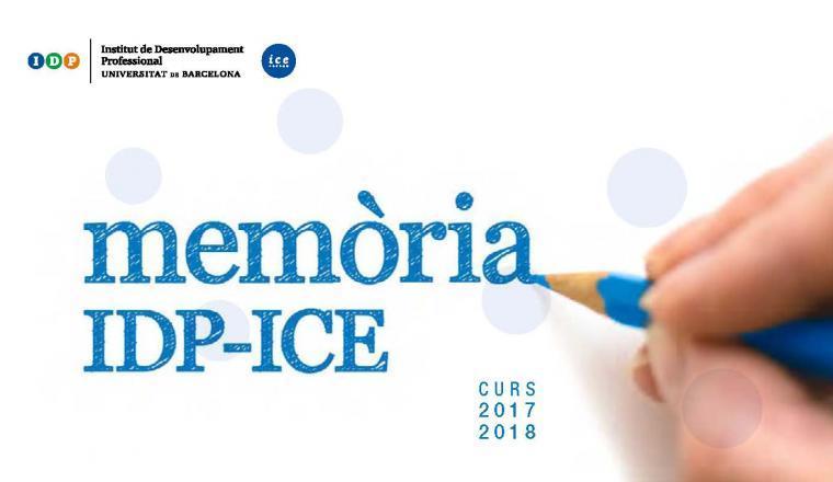 Memòria IDP_ICE 2017-2018