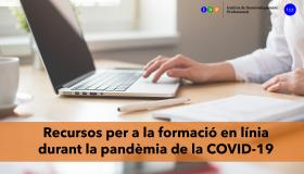 Recursos per a la formació en línia durant la pandèmia de la COVID-19