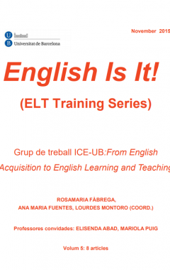 English Is It! (ELT Training Series). Vol. 5