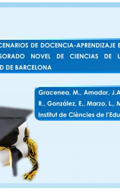 Nuevos escenarios de docencia-aprendizaje en la formación del profesorado novel de ciencias de la salud de la Universidad de Barcelona