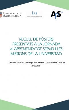 Recull de pòsters presentats a la jornada «l'Aprenentatge Servei i les Missions de la Universitat»