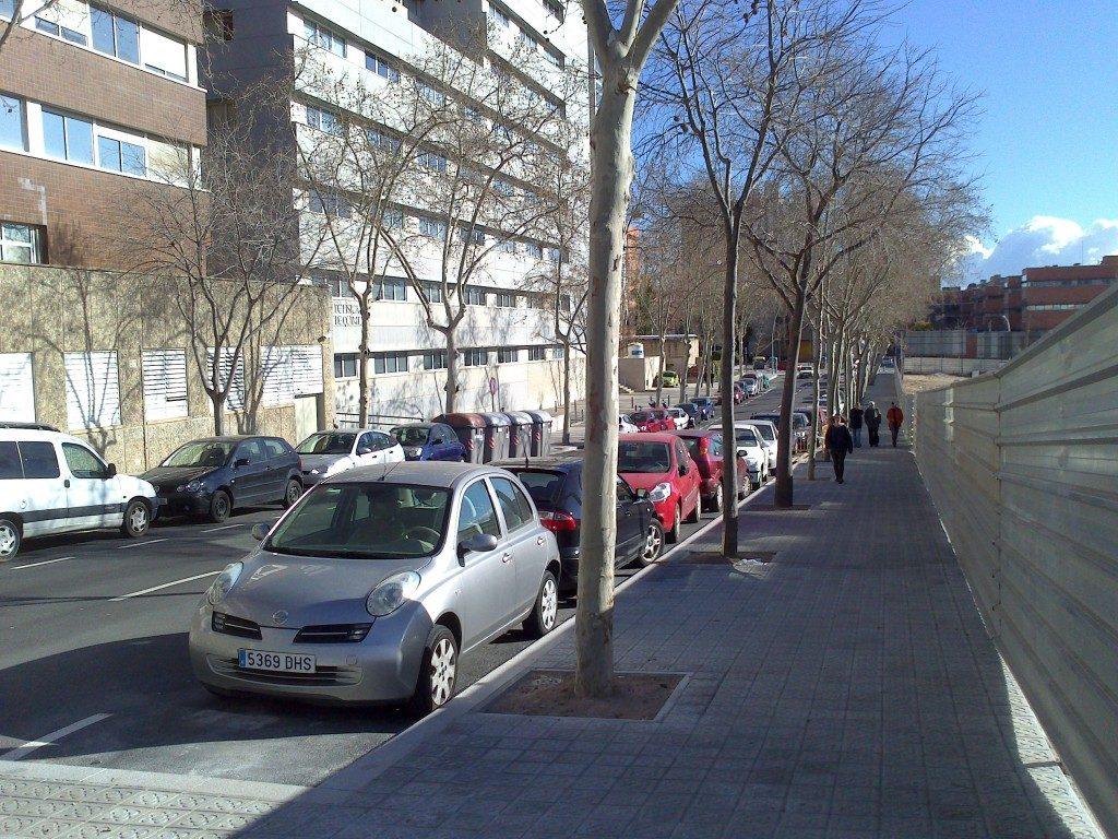 Urbanització del carrer de Pau Gargallo