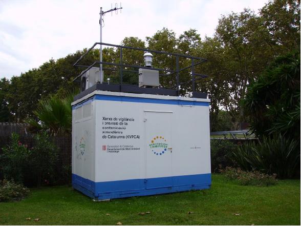 xarxa de vigilancia i  previsió de la contaminació atmosfèrica a Catalunya