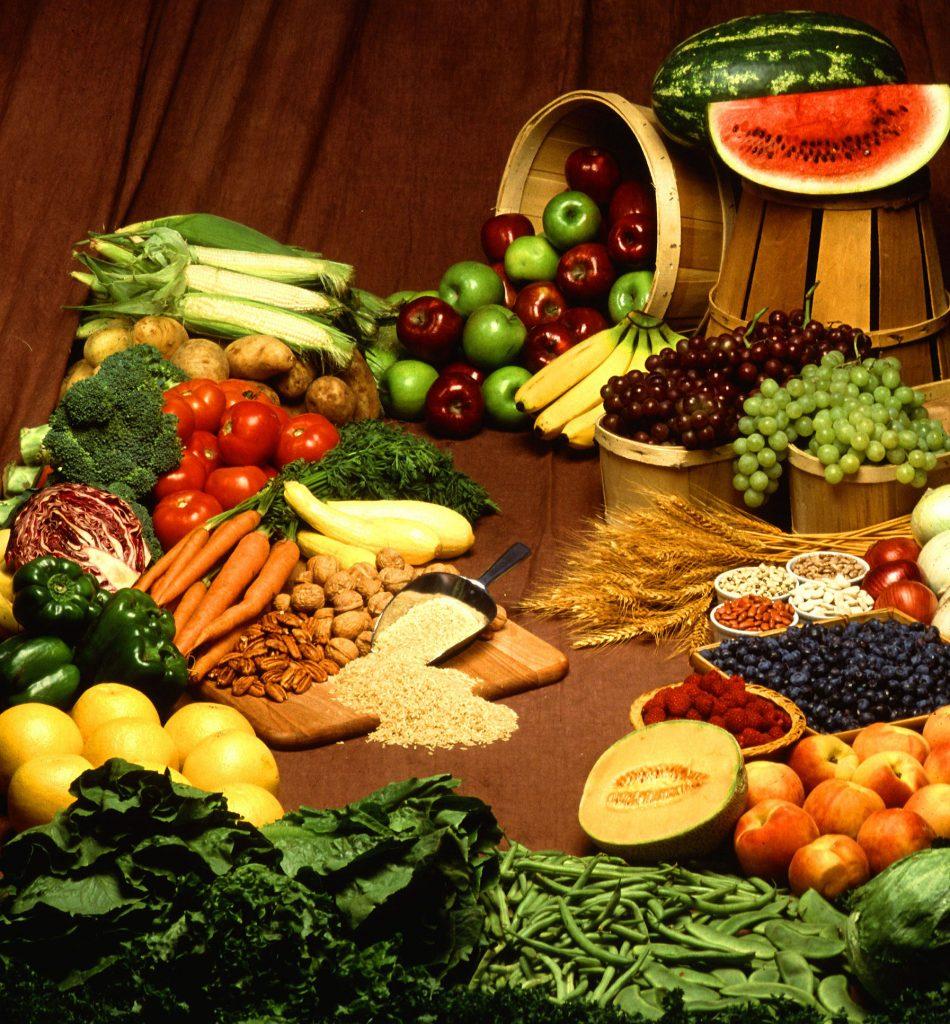 productes alimentaris, tant fruites com verdures