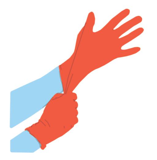 Posar-se guants