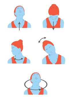 Exercicis cervicals