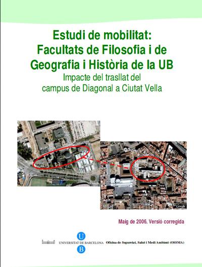 Estudi de mobilitat Filosofia, Geografia i Història