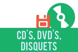 Fitxa de procediment de cd's, dvd's i disquets