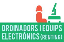 Fitxa de procediment de ordinadors i equips electrònics (renting)