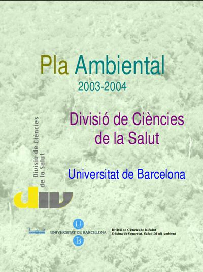 Pla ambiental UB