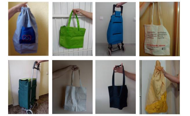 bosses de tela que poden reemplaçar amb tota comoditat les de plàstic