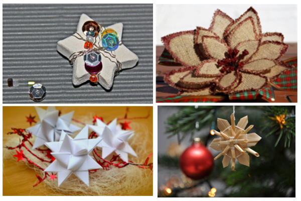 exemples de decoracions de nadal elaborades a mà