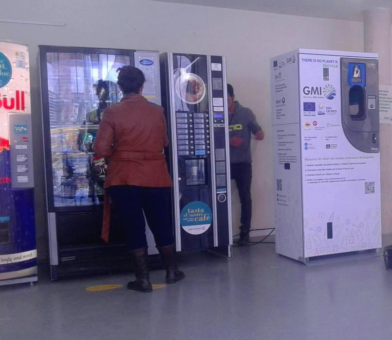 màquines a la facultat de Biologia