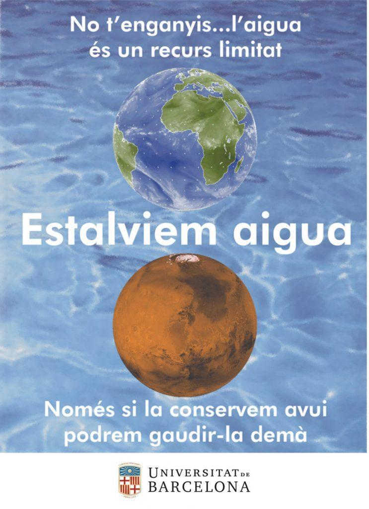 no t´enganyis  l´aigua es un recurs limitat, estalviem aigua. Només si la conservem avui podrem gaudir-la demà